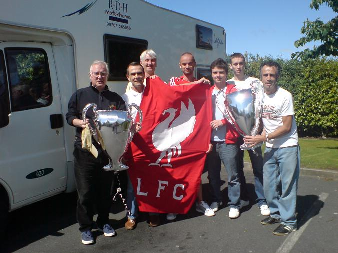 Andy Heaton Blog Motorhome Athens Fans Champions League final